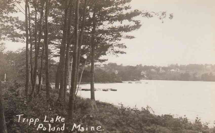 Poland, Maine, USA - Tripp Lake, Poland, Maine
