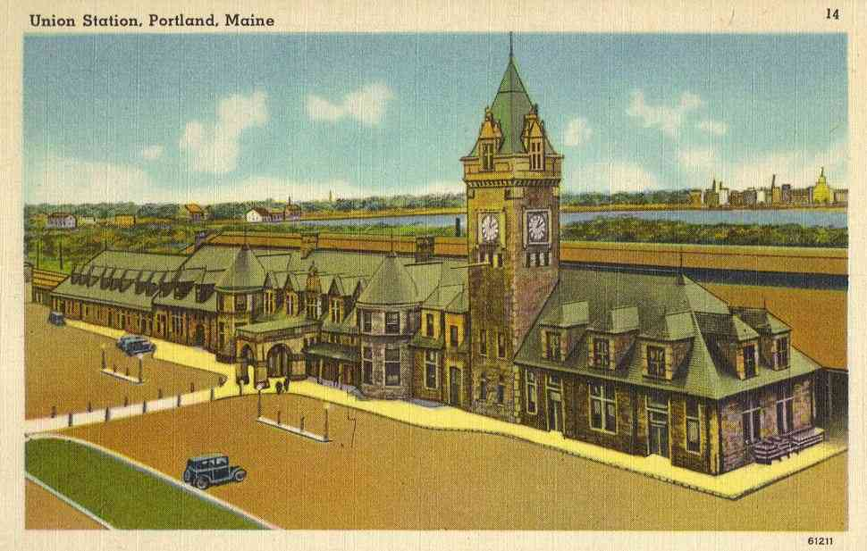 Portland, Maine, USA  - Union Station