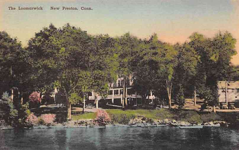 Preston, Connecticut, USA - The Loomarwick, New Preston, Conn.