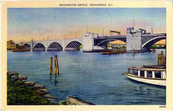 Providence, Rhode Island, USA - Washington Bridge. Providence, R. I.