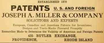 Providence, Rhode Island, USA - Patents - U.S. and Foreign