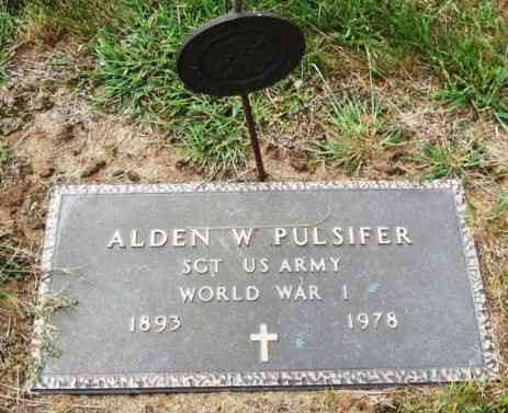 Alden William PULSIFER - Grave