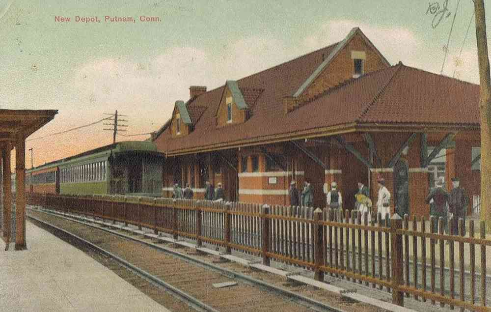 Putnam, Connecticut, USA - New Depot