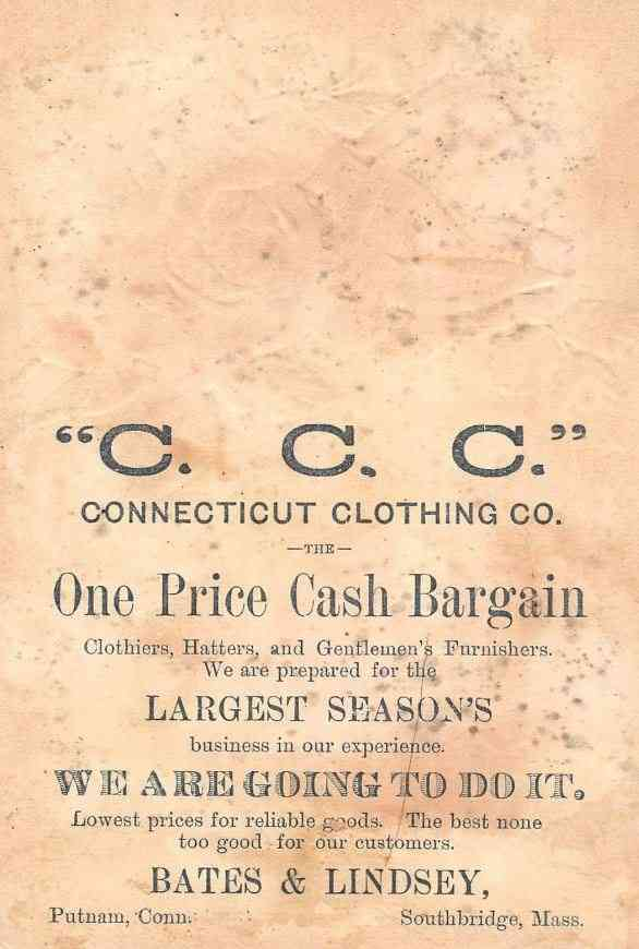 Southbridge, Massachusetts, USA - C. C. C.