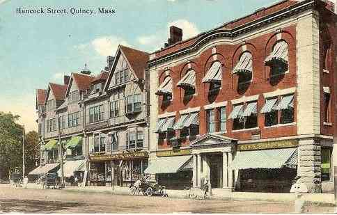 Quincy, Massachusetts, USA - Hancock Street (1912)