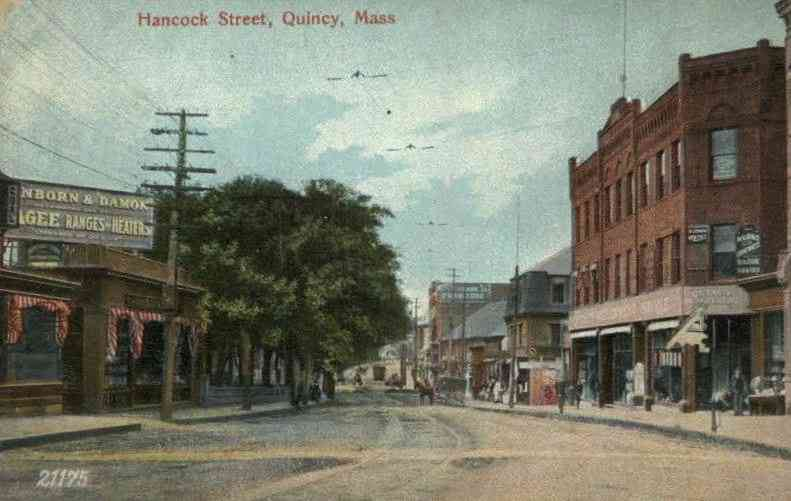 Quincy, Massachusetts, USA - Hancock Street