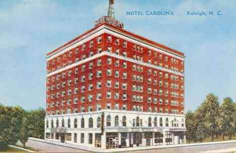 Raleigh, North Carolina, USA - Hotel Carolina