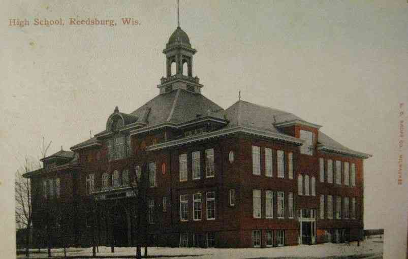 Reedsburg, Wisconsin, USA - High School, Reedsburg, Wis.