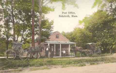 Rehoboth, Massachusetts, USA - Post Office, Rehoboth, Mass.