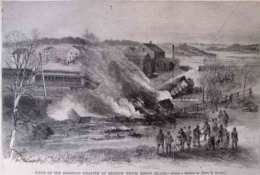 Richmond, Rhode Island, USA - HARPER'S WEEKLY: A JOURNAL OF CIVILIZATION illustrated newspaper, May 10, 1873. 