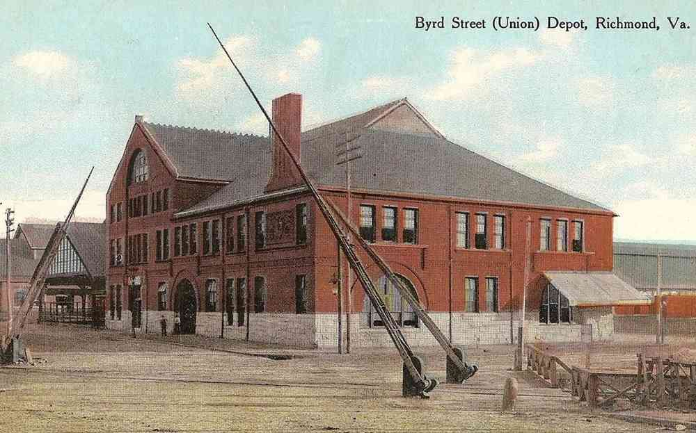 Richmond, Virginia, USA - Byrd Street (Union) Depot, Richmond, Va.