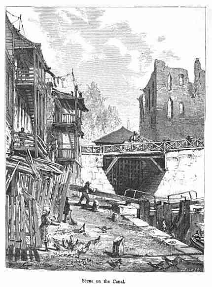 Richmond, Virginia, USA - Scene on the Canal