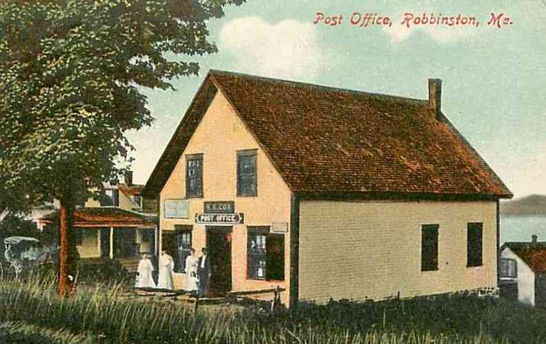 Robbinston, Maine, USA - Post Office