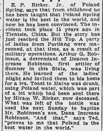 Dana Increase Robinson - Lewiston Evening Journal