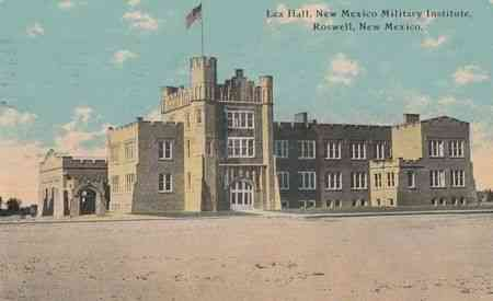 Roswell, Chaves, New Mexico, USA - Lea Hall, New Mexico Military Institute, Roswell, New Mexico