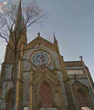 Saint John, New Brunswick, Canada - Cathedral of the Immaculate Conception, est. 1855
