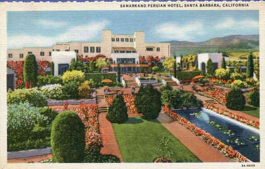 Santa Barbara, California, USA - Samarkand Persian Hotel