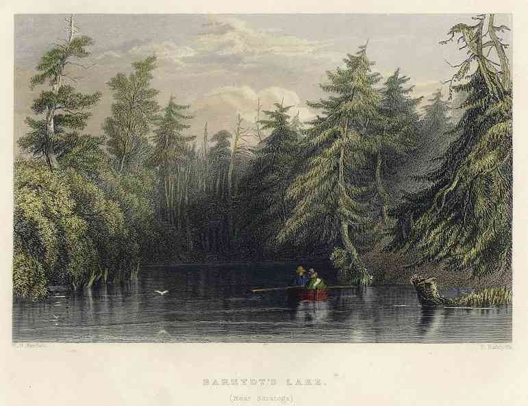Saratoga, New York, USA - Barhydt's Lake