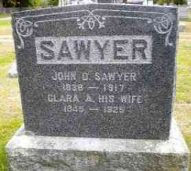 John Durgin Sawyer - Grave