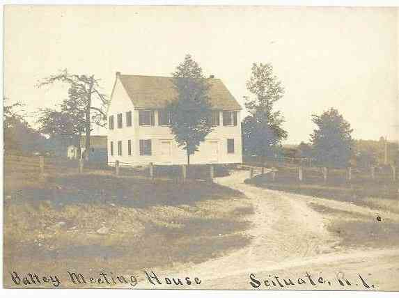 Scituate, Rhode Island, USA - Battey Meeting House