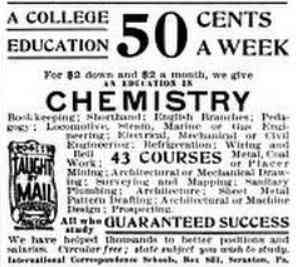 Scranton, Pennsylvania, USA - A College Education 