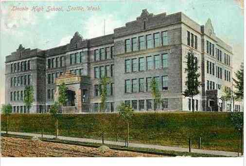 Seattle, Washington, USA - Lincoln High School, Seattle, Wash.
