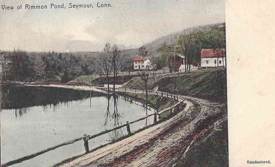 Seymour, Connecticut, USA - View of Rimmon Pond
