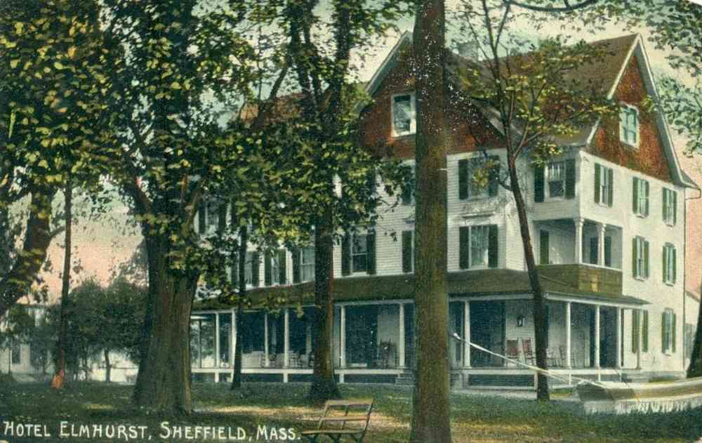 Sheffield, Massachusetts, USA - Hotel Elmhurst
