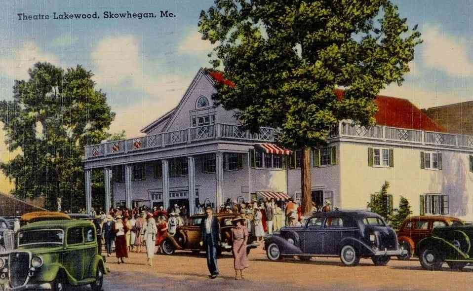 Skowhegan, Maine, USA - Theatre Lakewood