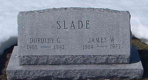 James William SLADE - Grave