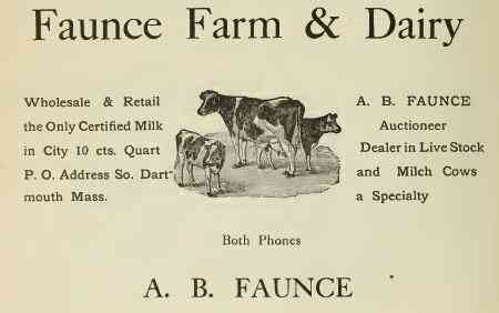 Dartmouth, Massachusetts, USA (Bliss Corner) (Smith Mills) - Faunce Farm & Dariy
