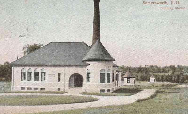 Somersworth, New Hampshire, USA - Pumping Station