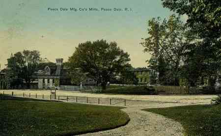 South Kingstown, Rhode Island, USA (Kingston) (West Kingston) (Matunuck) - Peace Dale Mfg. Co.'s Mills, Peace Dale, R.I.