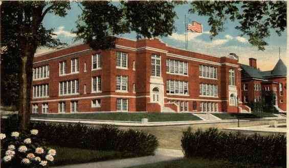 Southbridge, Worcester, Massachusetts, USA - High School