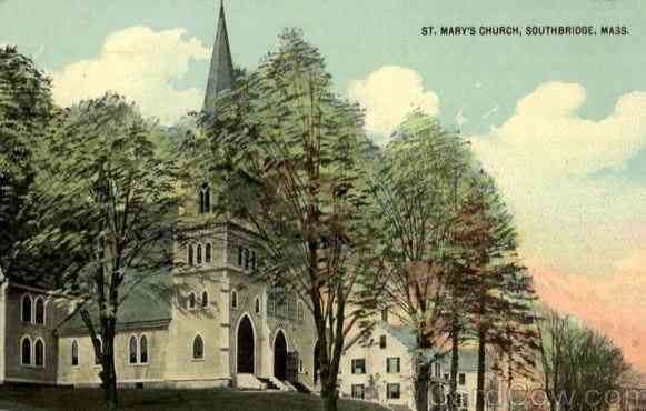 Southbridge, Massachusetts, USA - St. Mary's Church