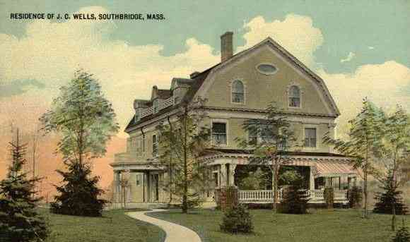 Southbridge, Worcester, Massachusetts, USA - Residence of J.C. Wells