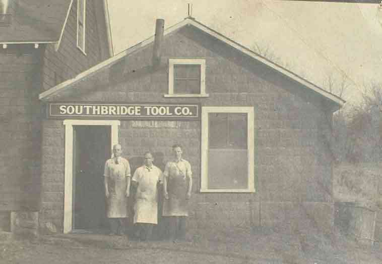 Southbridge, Massachusetts, USA - Southbridge Tool Company, Charlton Street, Southbridge, MA - 1941 - Edgar Tremblay, Archie Gagnon, Joseph Seremet