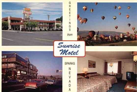 Sparks, Nevada, USA - Sunrise Motel