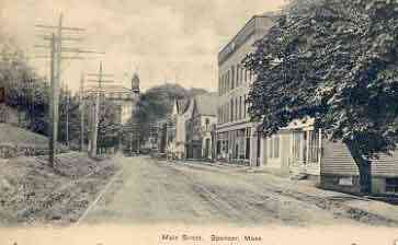 Spencer, Massachusetts, USA - Main Street, Spencer, Mass.