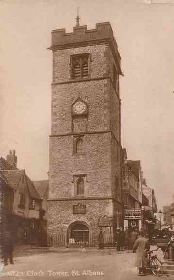 Saint Albans, Hertfordshire, England - The Clock Tower