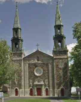 Saint-Denis-sur-Richelieu, Québec, Canada - Église de Saint-Denis