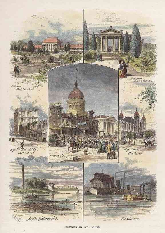 St Louis, Missouri, USA - Scenes in St. Louis