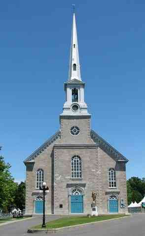 Saint-Michel-de-Bellechasse, Québec, Canada - Église de Saint-Michel