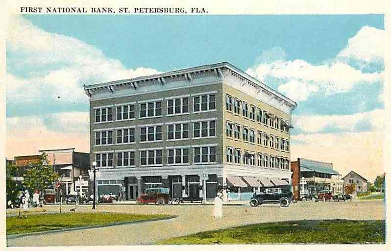 Saint Petersburg, Florida, USA - First National Bank