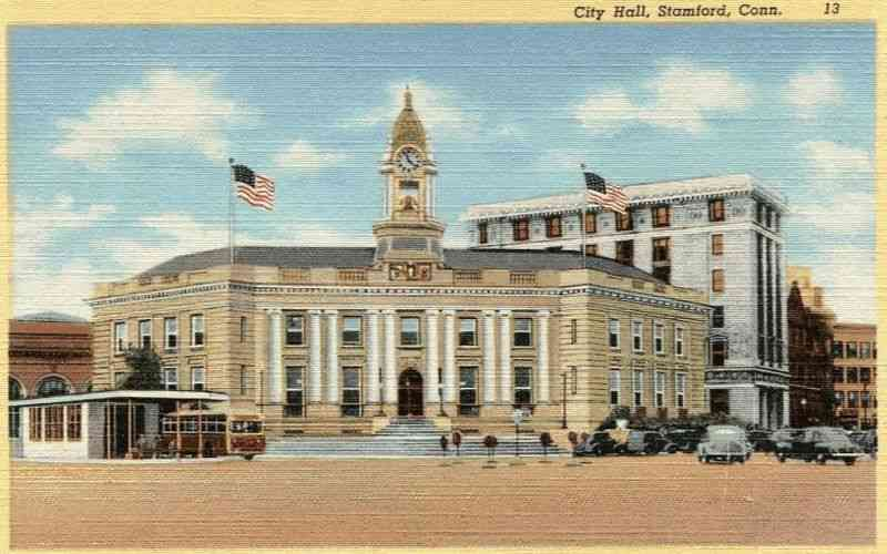 Stamford, Connecticut, USA - City Hall