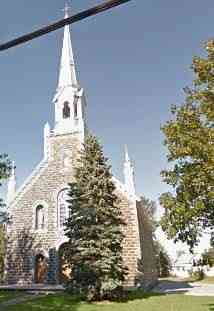 Stanbridge East, Québec, Canada (Stanbridge Station) - Église de Notre-Dame-des-Anges