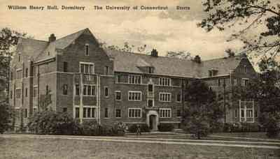 Mansfield, Connecticut, USA (Storrs) - William Henry Hall, Dormitory