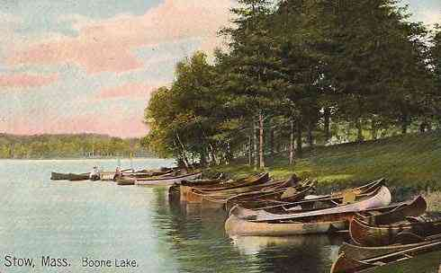 Stow, Massachusetts, USA - Boone Lake
