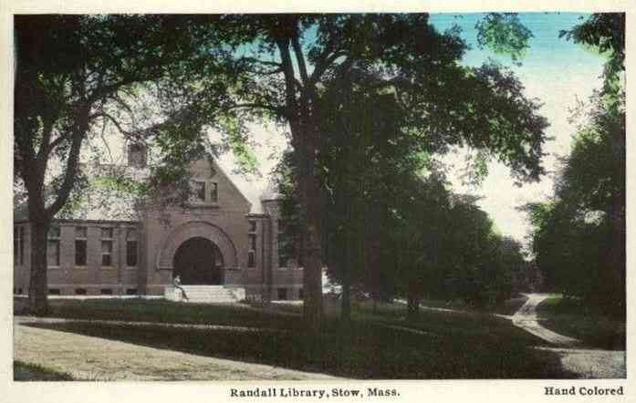 Stow, Massachusetts, USA - Randall Library, Stow, Mass.