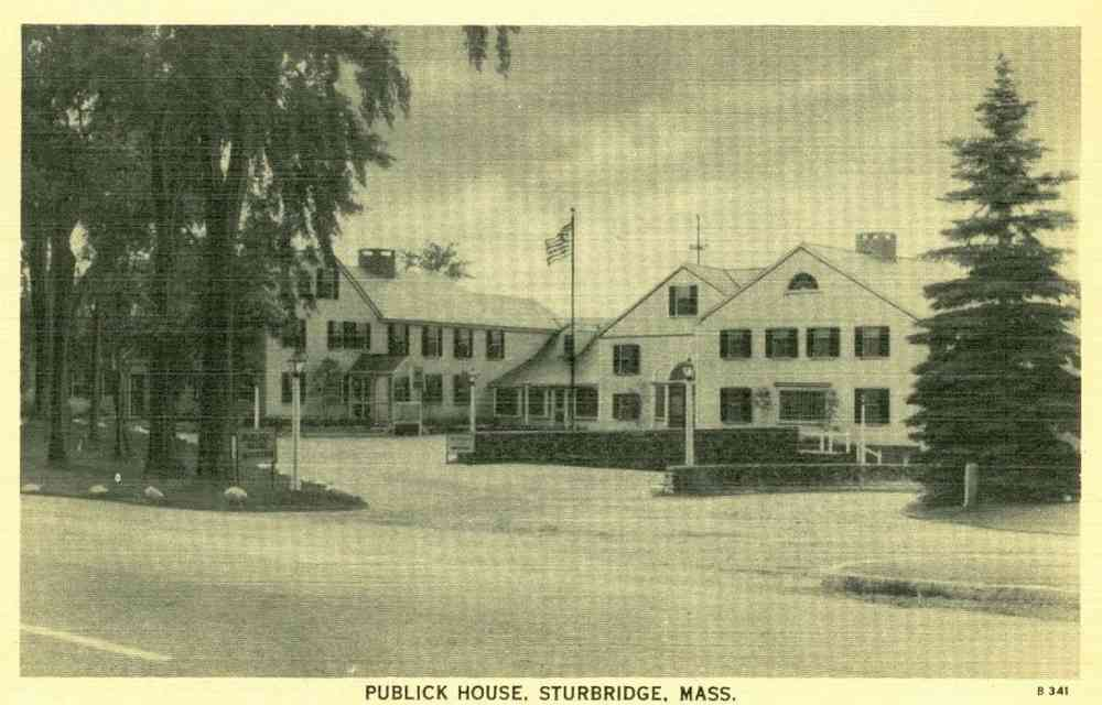 Sturbridge, Massachusetts, USA (Fiskdale) - Publick House, Sturbridge, Mass.
